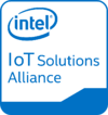 Intel-iot Badge